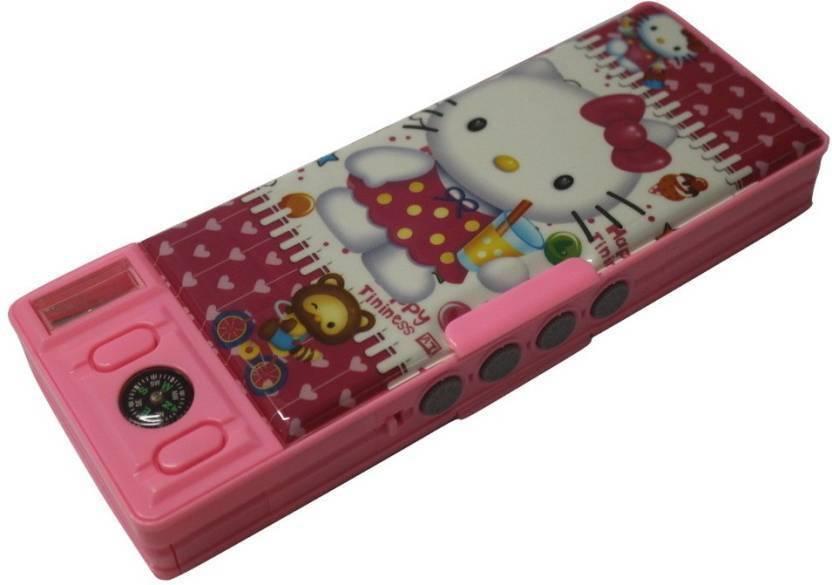 Enterkart CARTOON CHARACTER Art PLASTIC Pencil Box For Girls