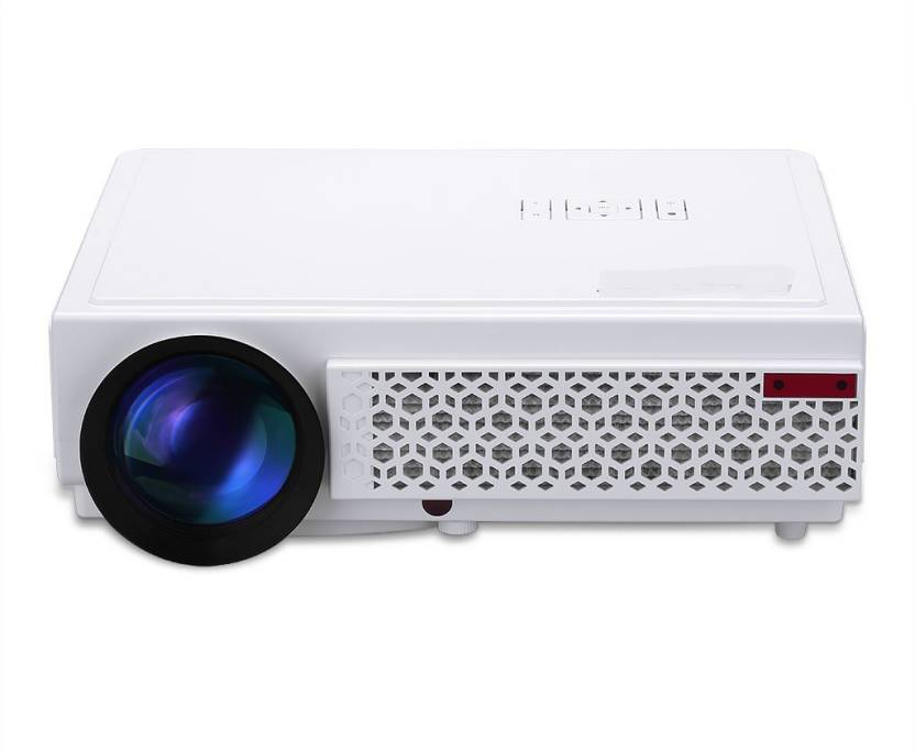 Toshani Ts08 Smart Projector 2500 Lumens Led Portable With Hdmi Av Vga