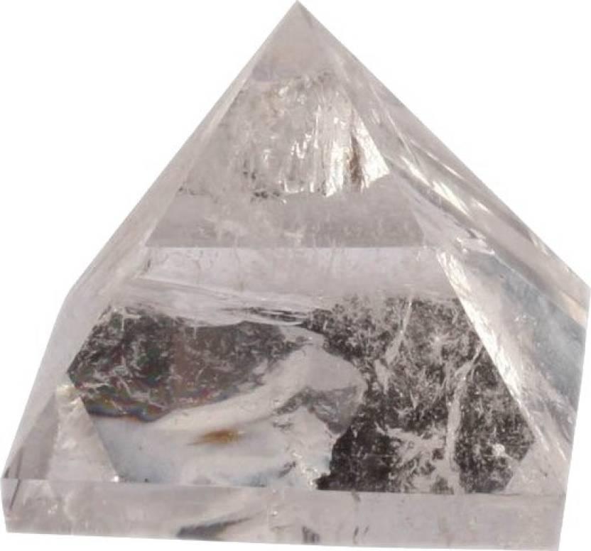 Beyond Thoughts Clear Quartz Crystal Decorative Showpiece