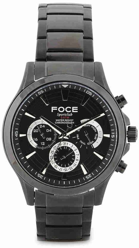 6fb6acecdb8 FOCE FS09BBM SPORTS CLUB Watch - For Men - Buy FOCE FS09BBM SPORTS CLUB  Watch - For Men FS09BBM Online at Best Prices in India