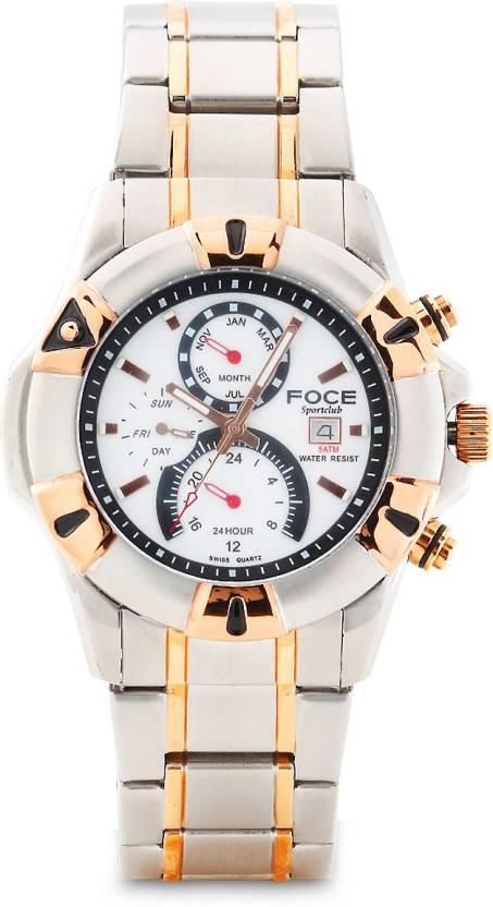 1363b613288 FOCE F911GRM FLOW Watch - For Men - Buy FOCE F911GRM FLOW Watch - For Men  F911GRM Online at Best Prices in India
