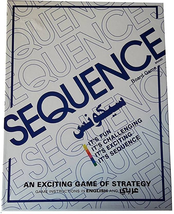 Hum Enterprise Sequence Card And Board Game For Amazing Fun For Kids