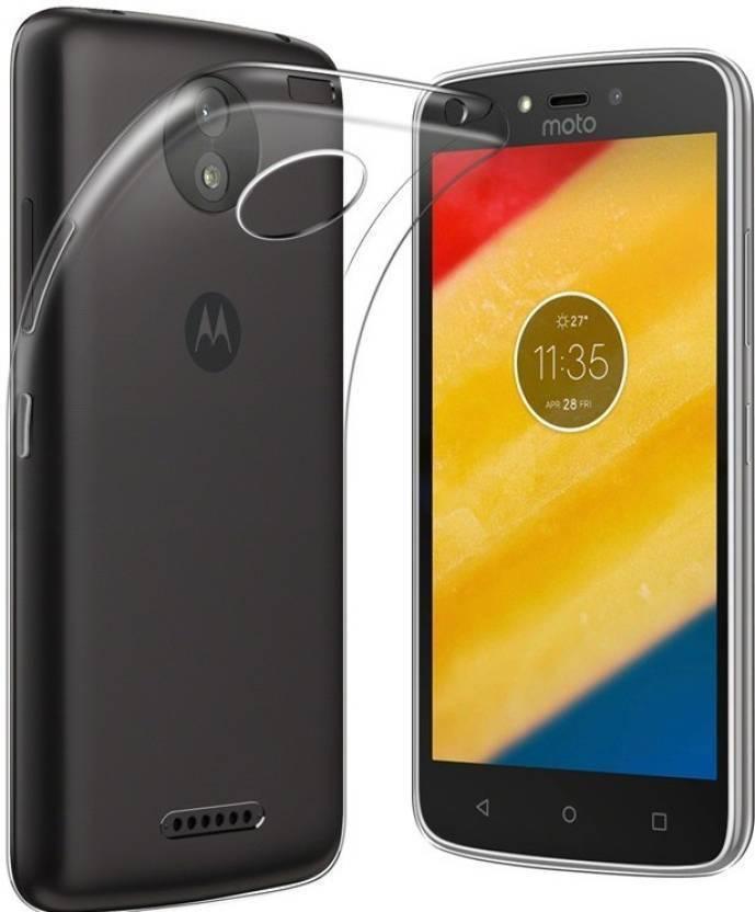 EASYBIZZ Back Cover for Motorola Moto C Plus Transparent