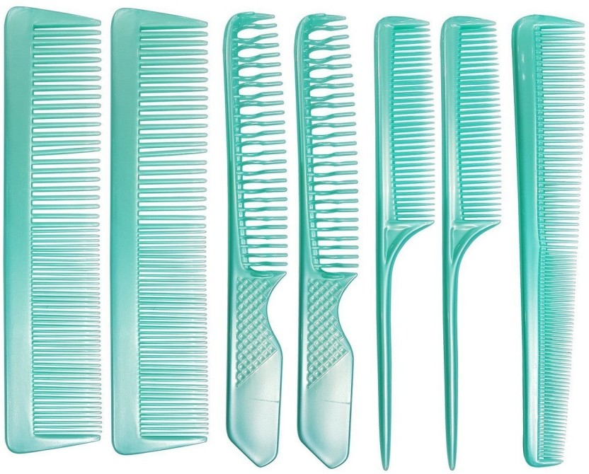 Confidence Professional Hair Cutting Comb Set, Salon Styling