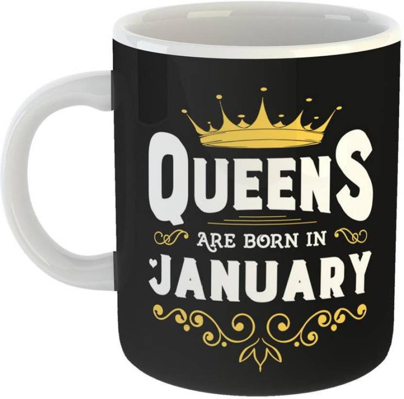 Mugs4You Best Birthday Gifts Perfect Girls Born In January Ceramic Coffee For Friend Girlfriend