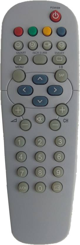LipiWorld PH-ZAPA CRT TV Universal Remote Control Compatible For Philips TV  Remote Controller