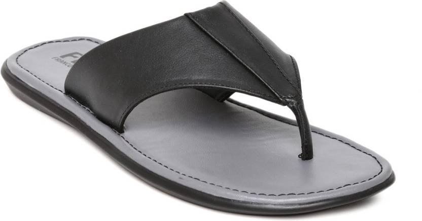 76319dd4f151 FRANCO LEONE Men BLACK Sandals - Buy FRANCO LEONE Men BLACK Sandals Online  at Best Price - Shop Online for Footwears in India