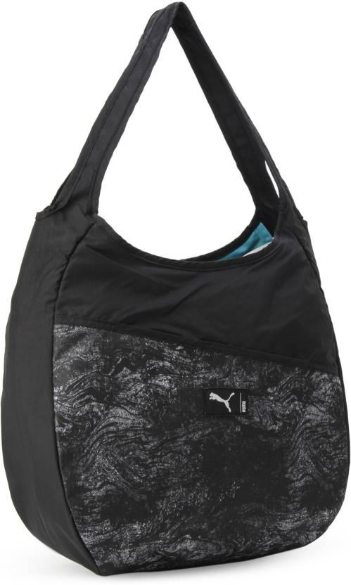 a86bc48c30 Buy Puma Shoulder Bag Puma Black-Gray Violet-graphic Online   Best ...