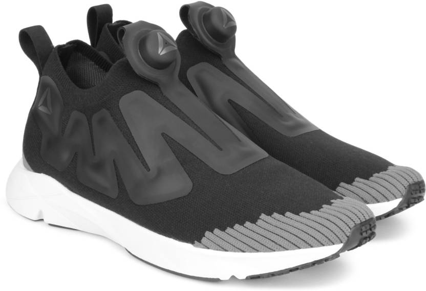 b3644d5695f REEBOK PUMP SUPREME ULTK Running Shoes For Men - Buy BLACK ASH GREY ...