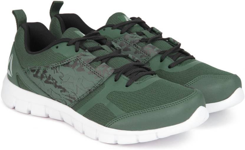 5b90cfdcb117 REEBOK SPEED XT 2.0 Running Shoes For Men - Buy CHALK GREEN   BLACK ...