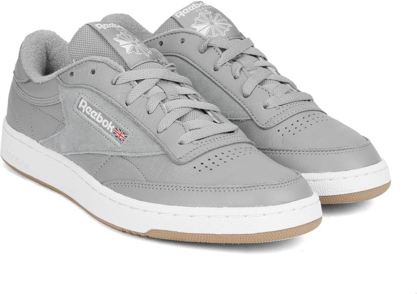 680c09e2f2396 REEBOK CLUB C 85 ESTL Sneakers For Men - Buy POWDER GREY WHT WSHD ...