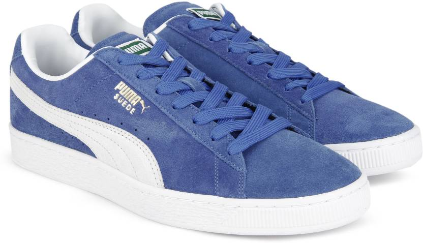 Puma Suede Classic + IDP Sneakers For Men - Buy Olympian Blue-Puma ... bec4bac1d6