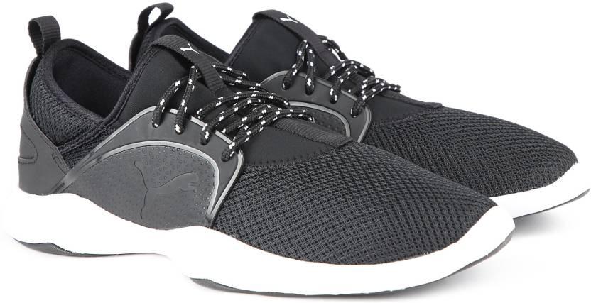 7b5e87fc1ec Puma Dare Lace Sneakers For Men - Buy Black-Black Color Puma Dare ...