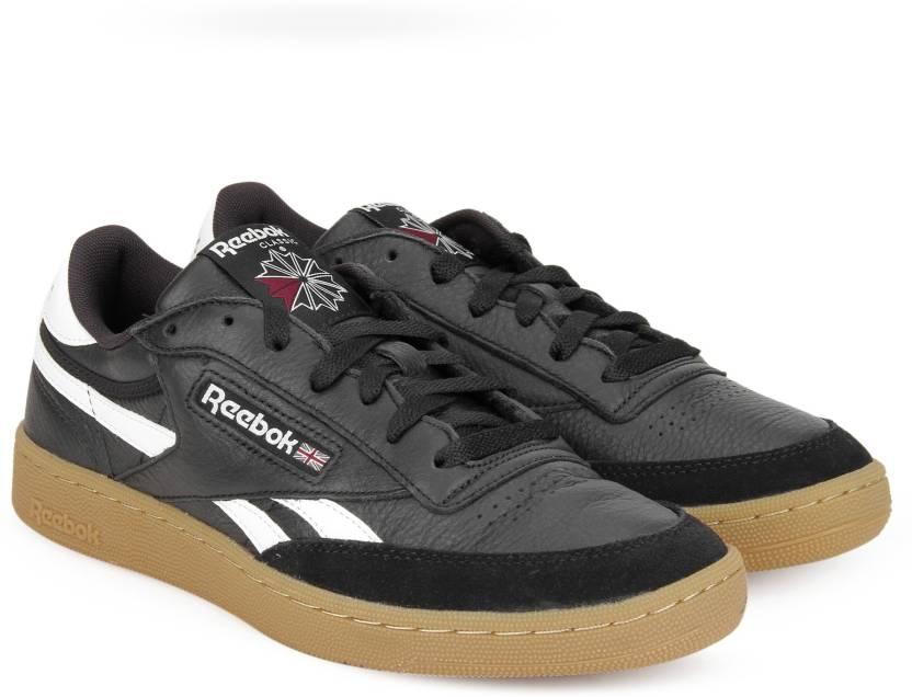 88581c8994e REEBOK REVENGE PLUS GUM Sneakers For Men - Buy BLACK WHITE-GUM Color ...