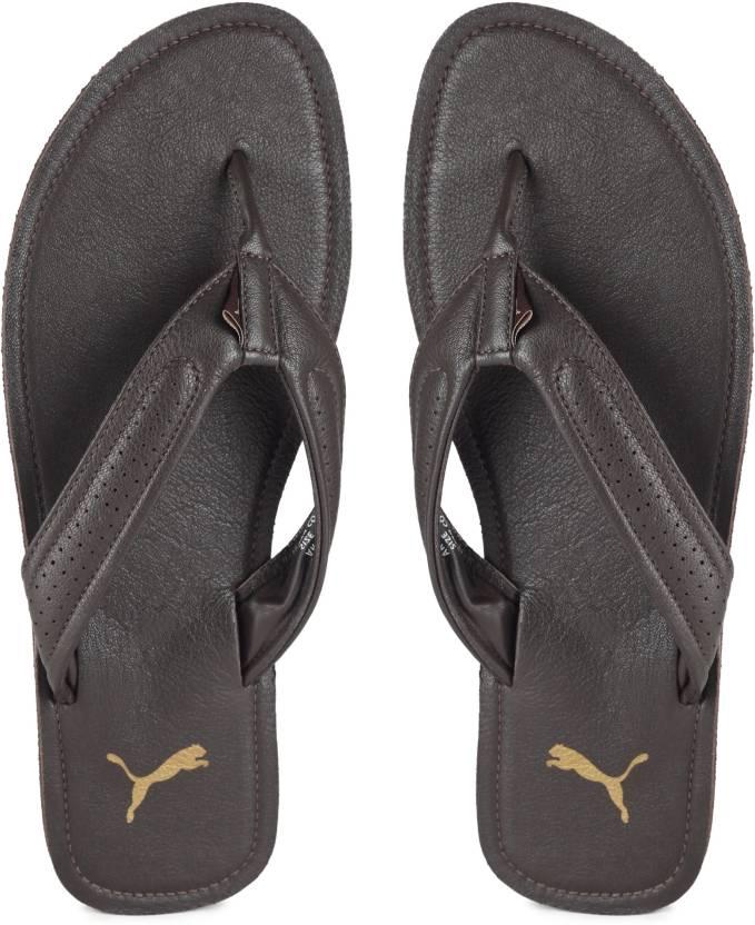 46d8244df Puma Java 2 IDP Slippers - Buy Chocolate Brown-Chocolate Brow Color ...