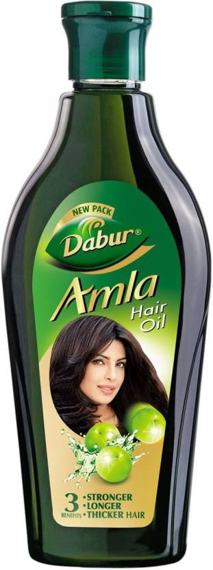 Dabur Amla Stronger, Longer, Thicker Hair Hair Oil  (180 ml)