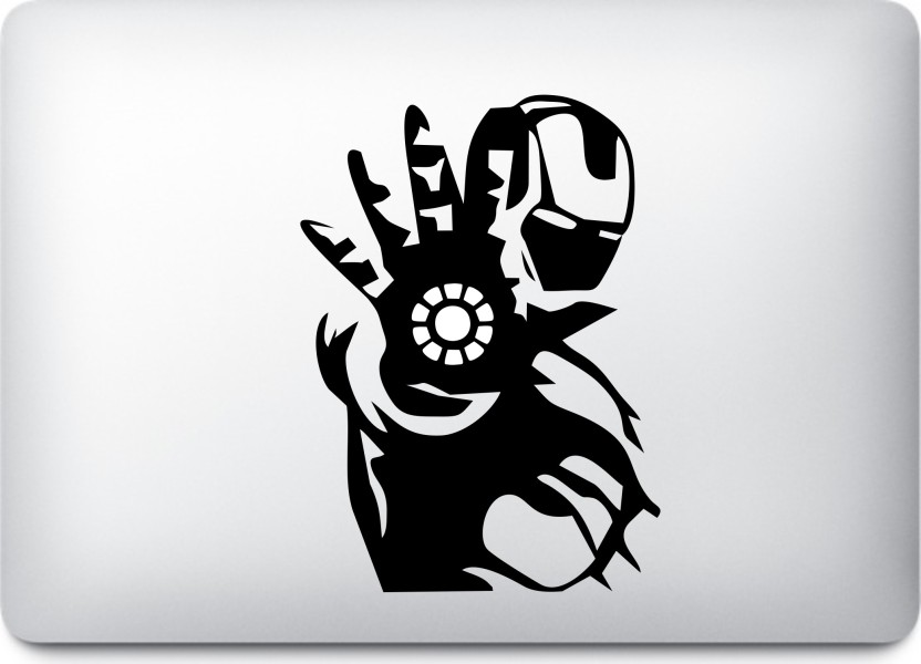 Presgraphics Iron Man Action Decal Vinyl Macbook Sticker Vinyl