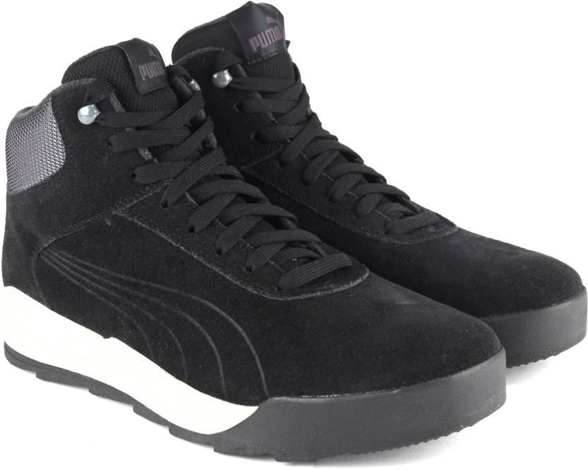 Puma Desierto Sneaker Sneakers For Men - Buy Puma Black-Puma Black ... f195cb893