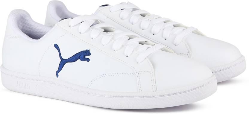ab6380ea6dd Puma Smash Cat L Sneakers For Men - Buy White-Blue Depths Color Puma ...