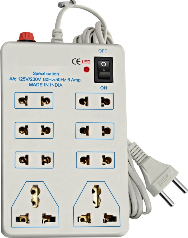 Extension cords power strip