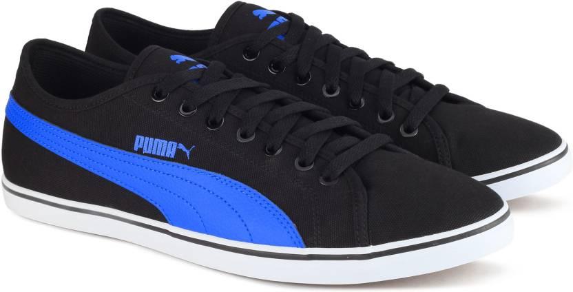 cb3928ba370 Puma Elsu v2 CV DP Sneakers For Men - Buy Black-French Blue Color ...