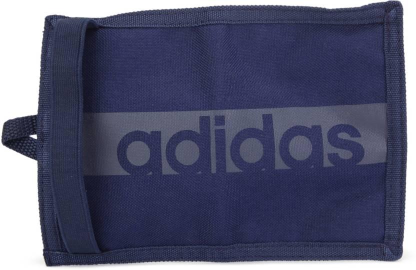 117e4d2614 ADIDAS Men Blue Fabric Wallet CONAVY CONAVY TRABLU - Price in India ...