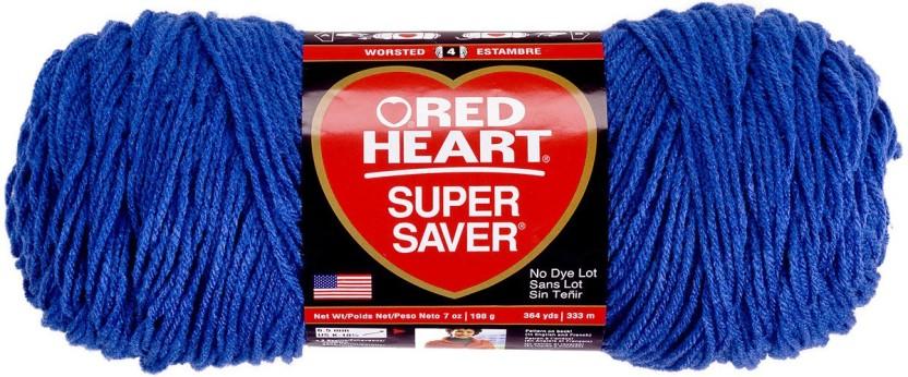 Red Heart Super Saver Yarn Blue Suede
