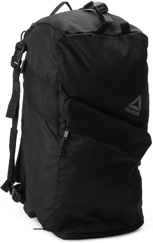 REEBOK ACT ENH CONV GRIP Travel Duffel Bag (Black)