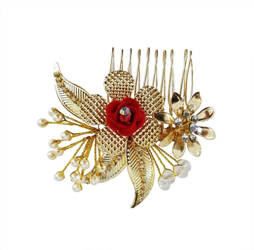 Majik Wedding Hair Accessories / Hair Clips For women And Girls Hair  Accessory Set, Hair Pin