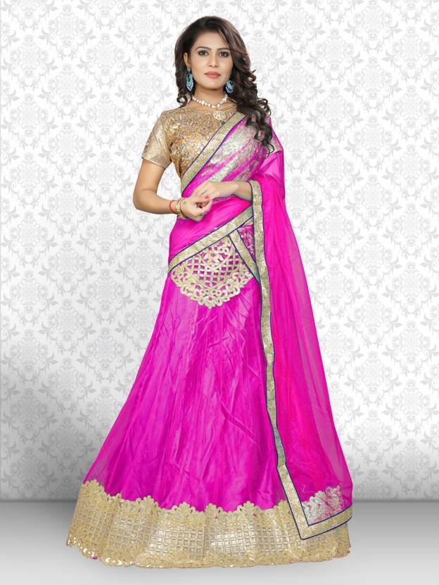 91c430f32a Divastri Embroidered, Embellished Lehenga Choli - Buy Divastri ...