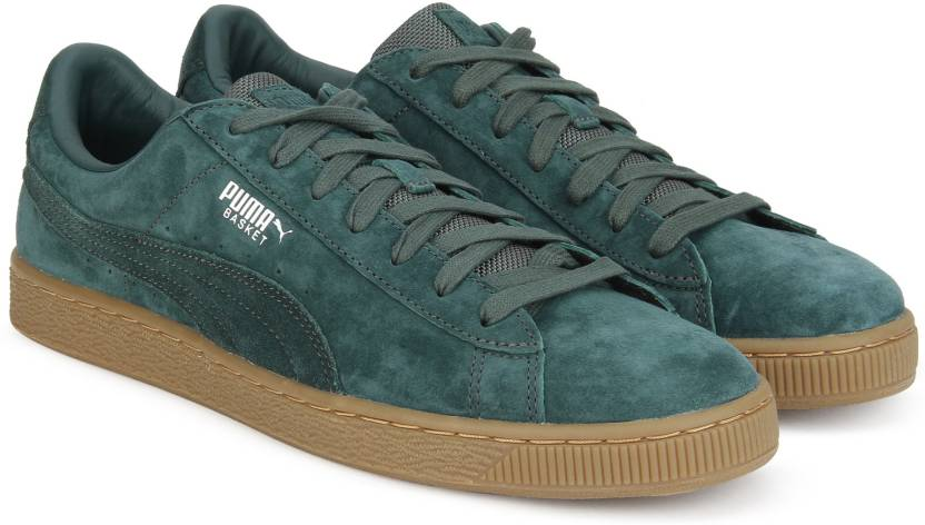 40d9a1728003d6 Puma Basket Classic Weatherproof Sneakers For Men - Buy Green Gables ...