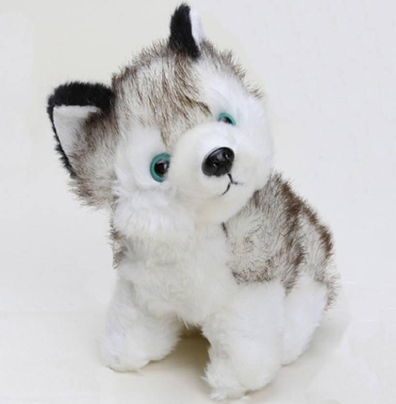 Ty Siberian Husky Imported Plush Soft Toy 20 Cm Siberian Husky