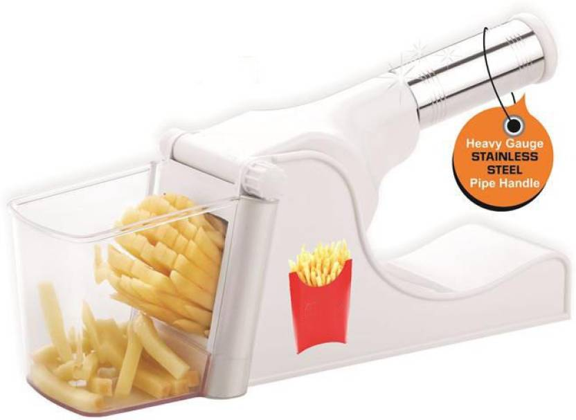 631ff306fff Beezy Potato Vegetable Chipser French Fries   Finger Chips Cutter   Potato  Chopper   Slicer With Container Made from Virgin Plastic Chopper (Chopper