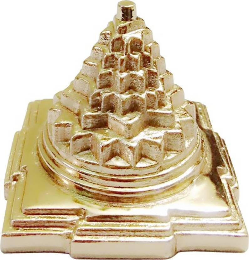 Divine Universe Meru Shree Yantra Hollow (Gold Plated) 1 5