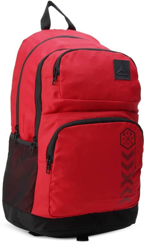 REEBOK SCHOOL BP 28 L Backpack SCARLE - Price in India