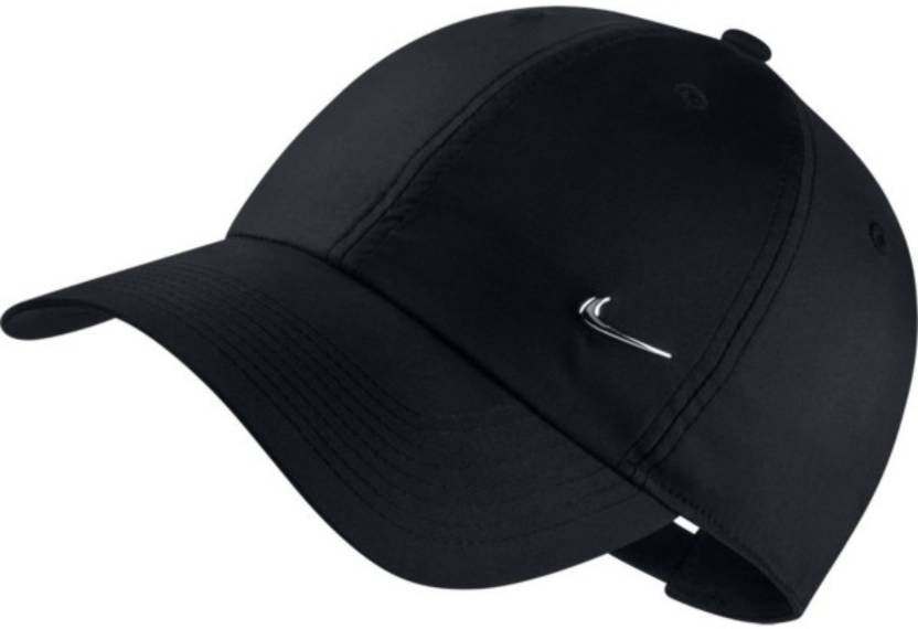 d9cf5ecba5e Nike Solid U NK H86 METAL SWOOSH Cap - Buy Nike Solid U NK H86 METAL SWOOSH  Cap Online at Best Prices in India
