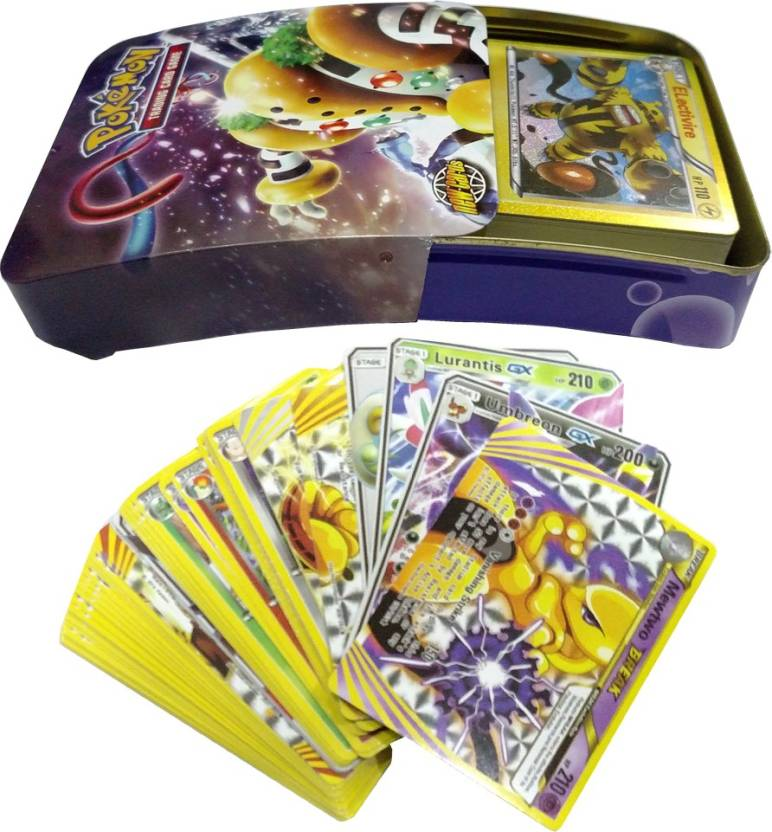 AncientKart Pokemon Call Of Legends Slide Open Tin with GX cards