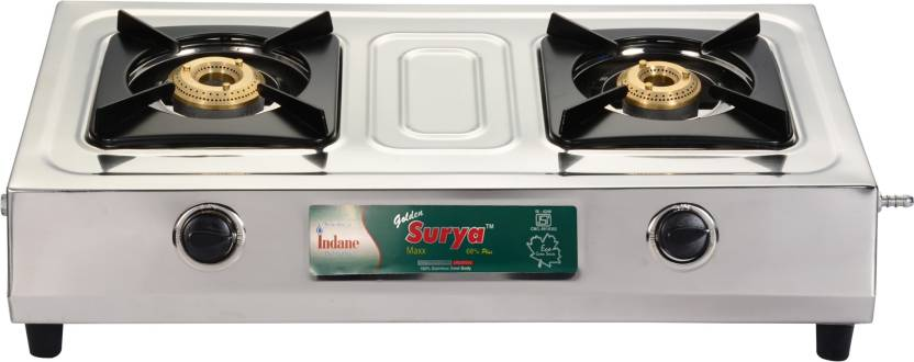 e4f2a99e6 GOLDEN SURYA GLGS-03-MAXX Stainless Steel Manual Gas Stove Price in ...