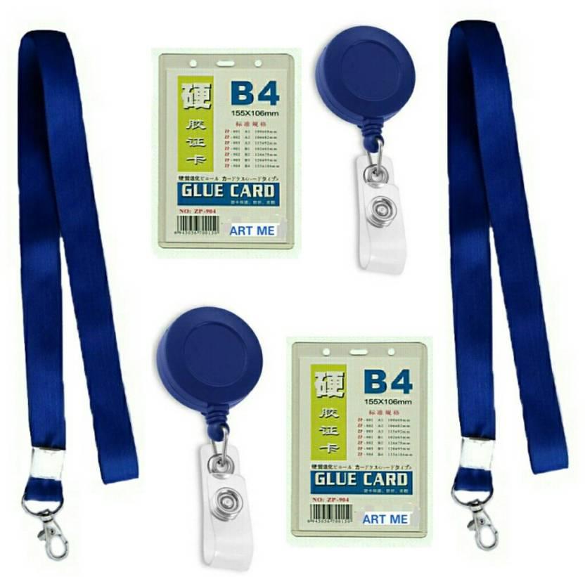 373fc5b9c5a1 ART ME Cotton, Plastic Lanyard, ID Badge Holder, ID Badge Reel Price ...