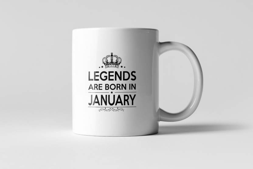 Brand Bihar Legends Are Born In January Best Birthday Gift For