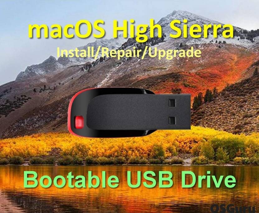 high sierra usb stick