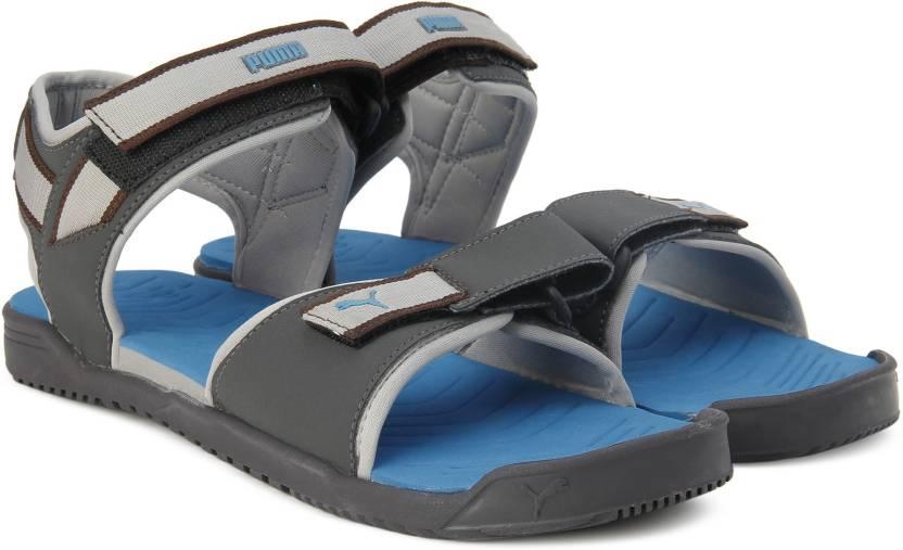 bafb6de562cad5 Puma Men Asphalt-French Blue-Quarry Sports Sandals - Buy Asphalt-French  Blue-Quarry Color Puma Men Asphalt-French Blue-Quarry Sports Sandals Online  at Best ...