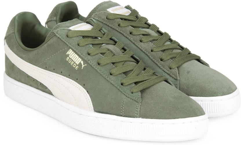 eb486c646158 Puma Suede Classic + IDP Sneakers For Men - Buy Olive Night-Birch ...