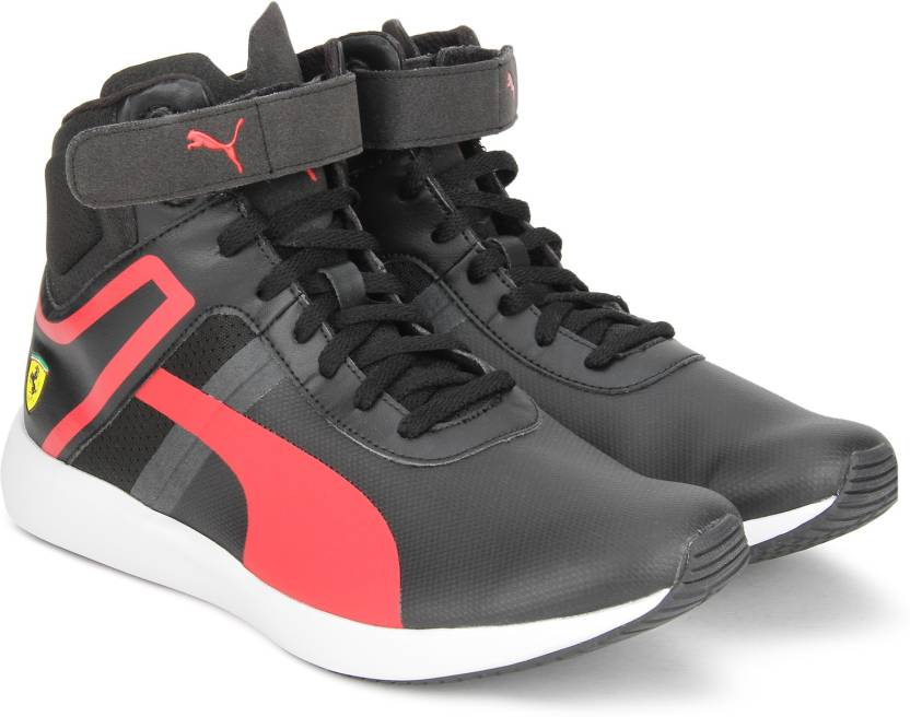 Puma ferrari sf f116 boot sneakers for men buy puma black rosso puma ferrari sf f116 boot sneakers for men publicscrutiny