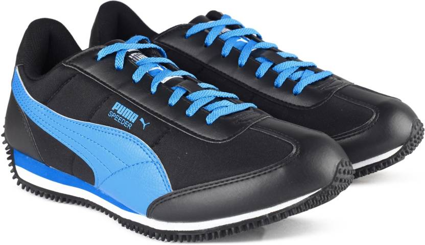 2dbfcb12ca82 Puma Velocity Tetron II IDP Sneakers For Men - Buy Black-Blue Atoll ...