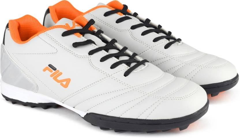 af05da4cdd57f Fila MACARIO 2 Football Shoes For Men - Buy GRY NEO ORG Color Fila ...