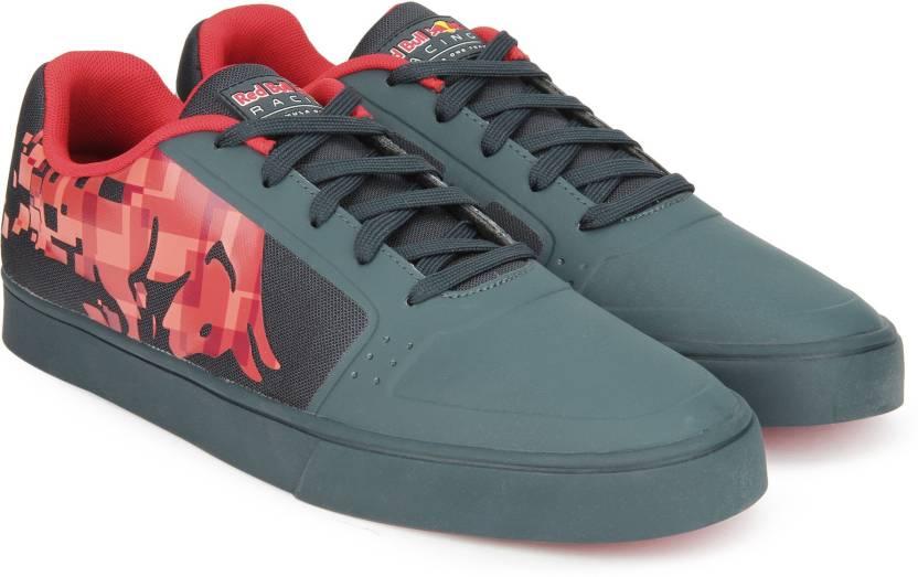 13f4e5041ca Puma Red Bull RBR Wings Vulc Bulls Sneakers For Men - Buy Total ...