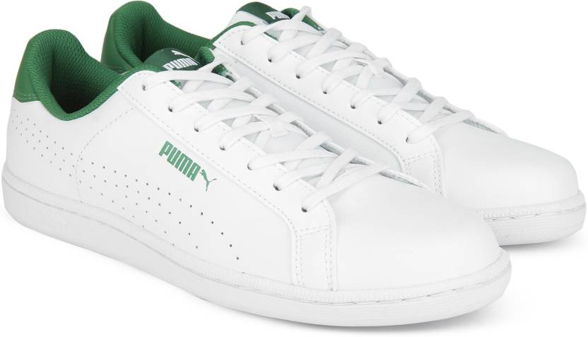 Puma Puma Smash Perf IDP Sneakers For Men - Buy Puma White-Verdant ... ed41c7ff3