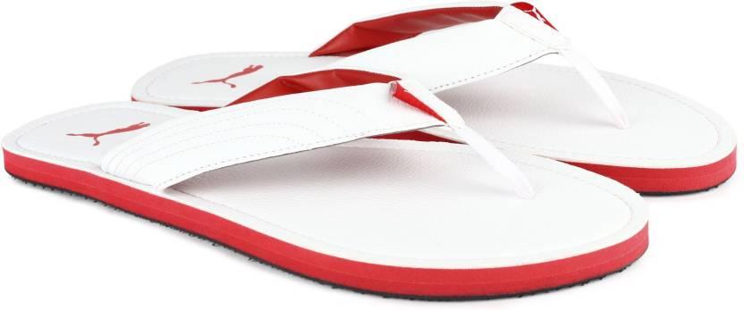 Puma Ketava III DP Slippers - Buy Puma White-High Risk Red Color ... cb4745087