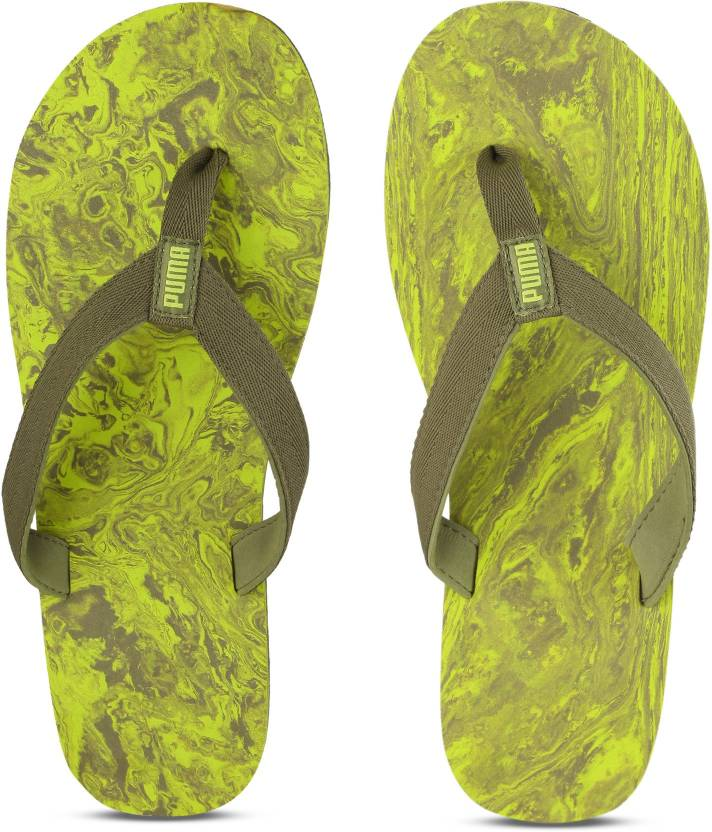 74a413ce15b Puma Epic Flip v2 Marble IDP Slippers - Buy Avocado-Nrgy Yellow Color Puma  Epic Flip v2 Marble IDP Slippers Online at Best Price - Shop Online for  Footwears ...